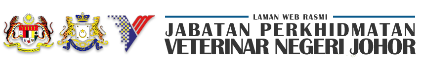 Laman Web Rasmi Jabatan Perkhidmatan Veterinar Negeri Johor